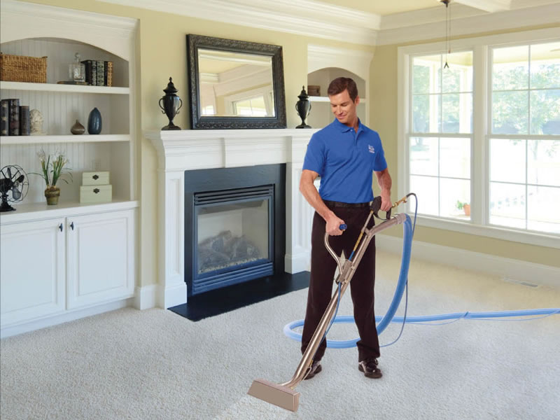 Carpet Cleaning Service Tech